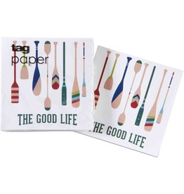 The Good Life Paper Cocktail Napkin