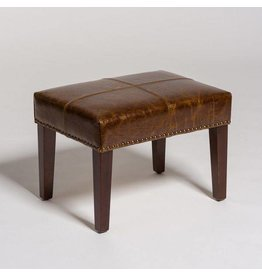 Sutton Footstool in Antique Brompton