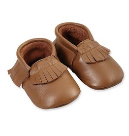 Leather Moccasins 0-6 Months