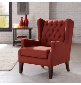 Tufted Red Chair