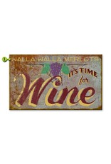 It's Time for Wine 28x48