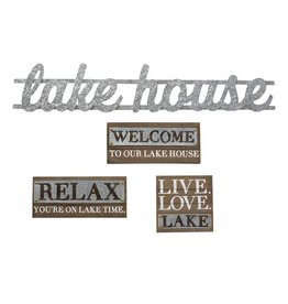 Welcome Lake Plaque