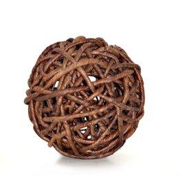 Woven Decorative Sphere 9''