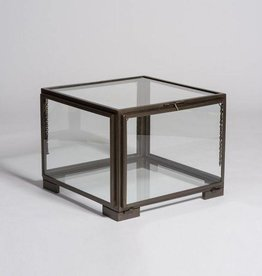 Berkeley Coffee Table in Burnished Riviera an Glass