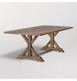 "Bryant 84"" Dining Table in Brindled Ash"