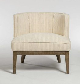 Chandler Occasional Chair in Wheat Field andDriftwood