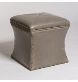 Manchester Cube Storage Ottoman in London Fog