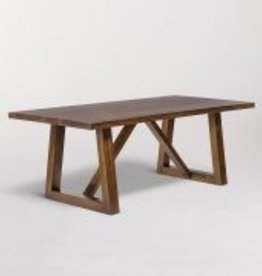 "Mendocino Rectangular Dining Table in Dark Chestnut - 96"""