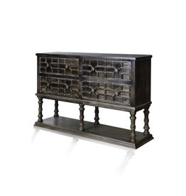 Moorish Design Four Drawer Buffet