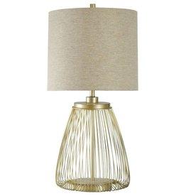 Open Metal Table Lamp