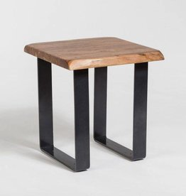 Tahoe Live Edge End Table in Natural Finish