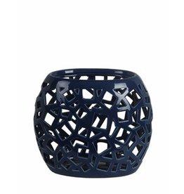 Privilege Pierced Ceramic Vase