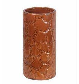 Privilege Small Ceramic Vase - Giraffe Pattern