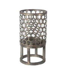 Privilege Small Candle Lantern - Iron