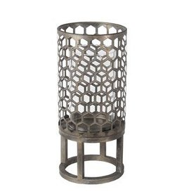 Privilege Large Candle Lantern - Iron