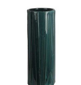 Privilege Large Turquoise Ceramic Vase