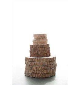 """6-1/4"""" Round Paulownia Wood Slice"""