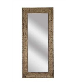 "33""L x 74""H Metal Framed Mirror"