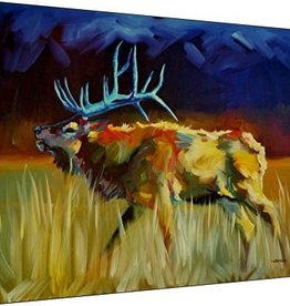 Wrapped Canvas-Meadow Bull 27x36