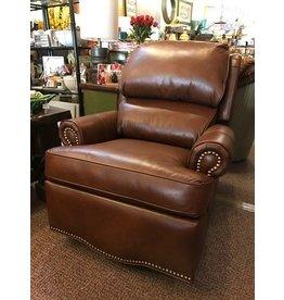 Leather Swivel Recliner