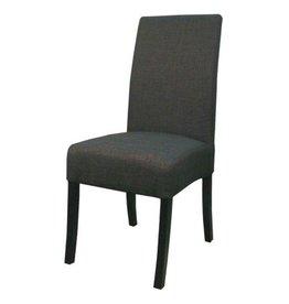 Valencia Fabric Chair - Dark Grey