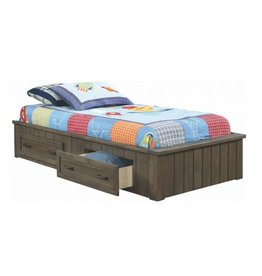 Coaster Napoleon Youth Gunsmoke Twin Platform Bed