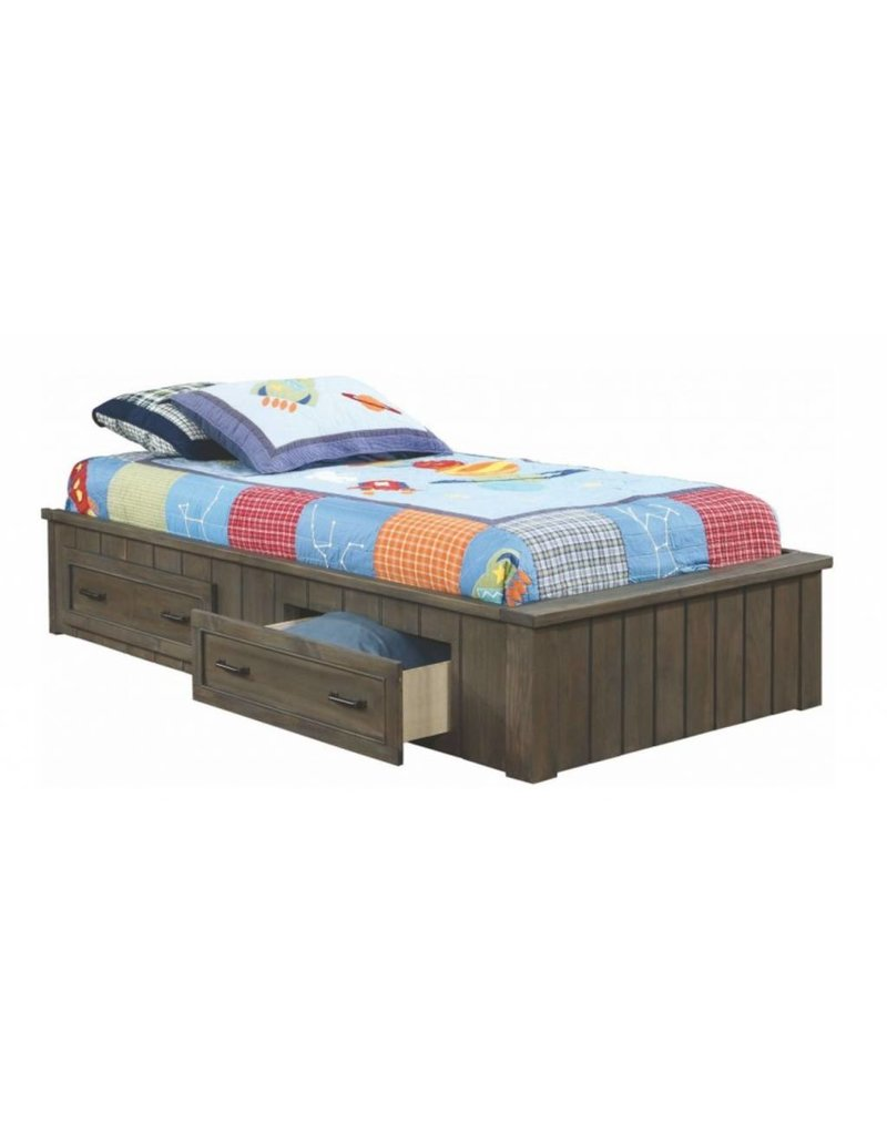 Coaster Napoleon Youth Gunsmoke Twin Platform Bed