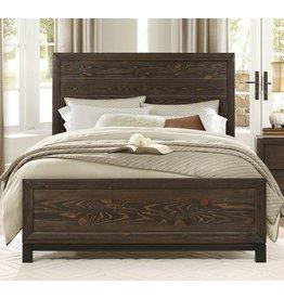 Homelegance Queen Branton Bed, Antique Brown