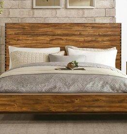 Homelegance Queen Sorrel Panel Platform Bed, Rustic