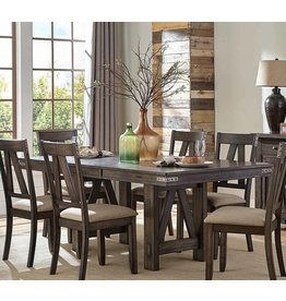 Homelegance Mattawa Rectangular Dining Table with Butterfly Leaf