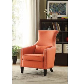Homelegance Arles Accent Chair w/ 1 Kidney Pillow