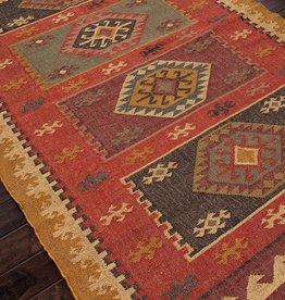 Bedouin Rug, Zinfandel Wood 9x12