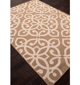 "Bloom Scrolled Rug, Lark Birch 7'11""X10"