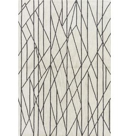 """Fusion Stela Rug, Feather Gray & Agate Gray 5X7'6"""""""