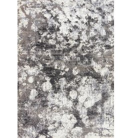 "Masonic Nero Rug, Light Gray & Cloudburst 7'6""X9'6"""