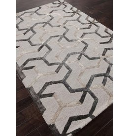 Blue Addy Rug, Light Gray & Dark Shadow 5x8