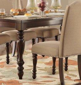 Homelegance Benwick Dining Table - Dark Cherry