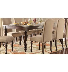 Homelegance Benwick Dining Table - Dark Cherry