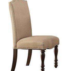 Homelegance Benwick Side Chair - Dark Cherry