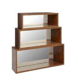 Clark wall shelf (Set of 3)