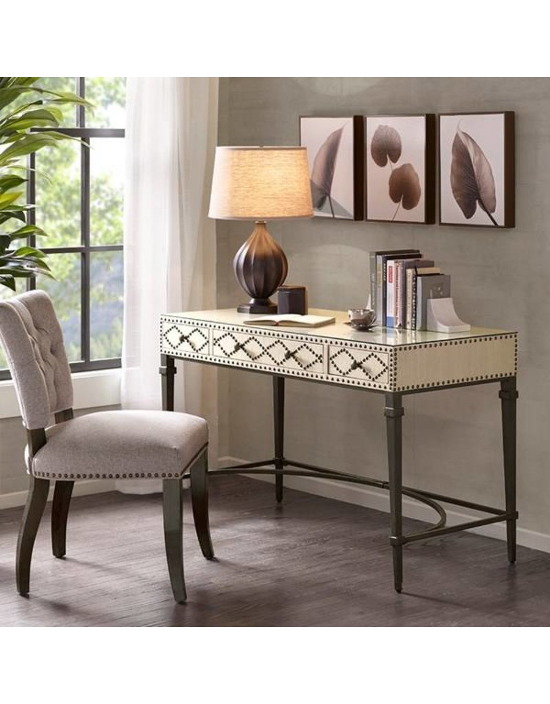 Senna Nailhead Writing Desk