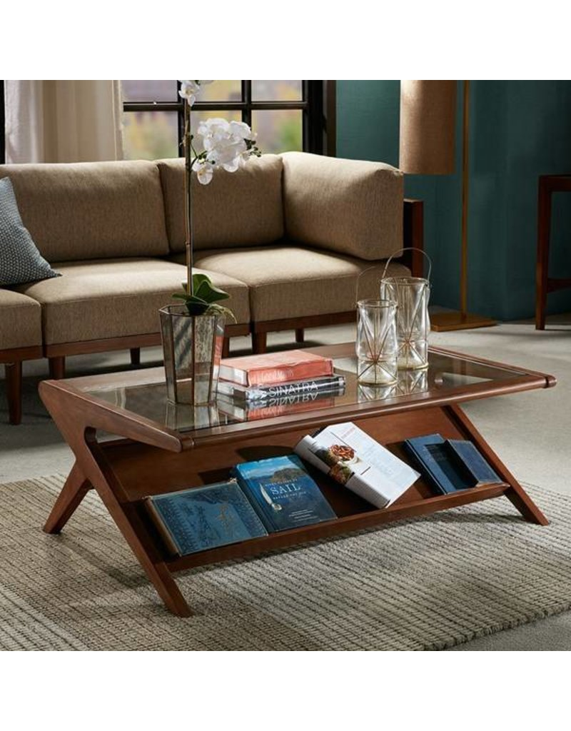 Rocket Coffee Table With Tempered Gl