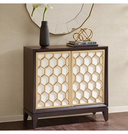 Honeycomb Accent Cabinet