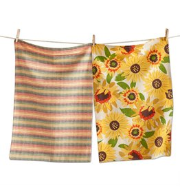 Sunflower Dishtowel Set of 2