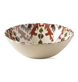 Ikat Melamine Serving Bowl