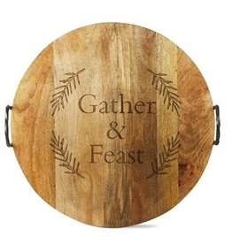 Gather & Feast Handled Serving Board