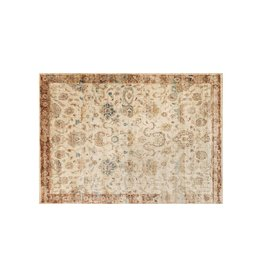 Anastasia Collection  Antique Ivory Rust 1'6in x 1'6in.
