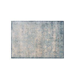 Anastasia Collection  Light Blue Ivory 1'6in x 1'6in.