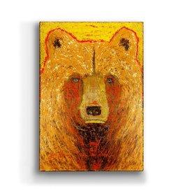 """""""Hawk"""" Metal Box Art 18x26"""