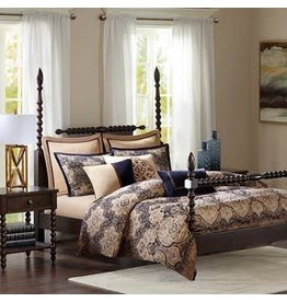 Wellington 9pc Comforter Set-- King